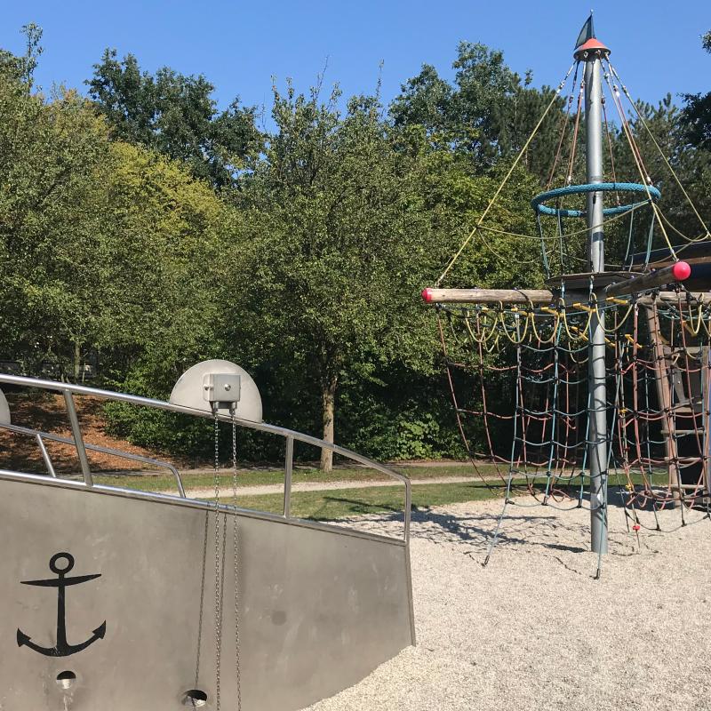 Spielplatz im Freizeitpark